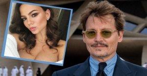 Johnny Depp aime jeune Russe: il Veut ce Gogo-Girl se marier?