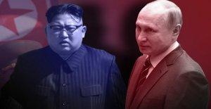 Kremlin: Vladimir Poutine frappe de Kim Jong-un, ce Mois-ci