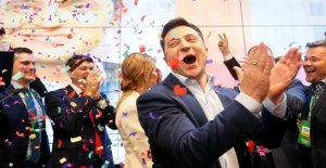 Le comédien est de l'Ukraine, le Président Selenski veut plan de paix de retour!