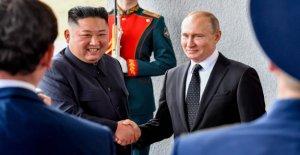 Poutine reçoit de Kim Jong-un: Lancement de la Schurkengipfel à Vladivostok