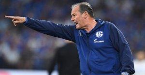 Schalke: l'Entraîneur Huub Stevens caresse libre de Pâques!