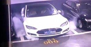 Tesla Model S a explosé dans le Garage: la Cause de l'incendie reste encore incertaine