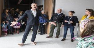 Yan Duyvendak reçoit le Grand Prix de Théâtre de Vue