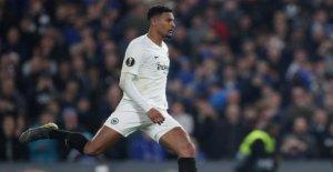 Avenir incertain: Haller y a pas de Promesse pour l'Eintracht Francfort
