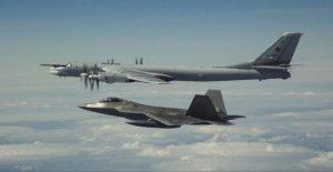 Avions de combat AMÉRICAINS ont, de nouveau, de Chasse, de Bombardiers de la Russie en passant par l'Alaska intercepté
