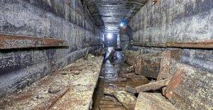 Bochum: Construction de découvrir Luftschutzbau de la Deuxième Guerre mondiale!