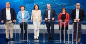 Comment allez-vous, l'Europe?: Le Dialogue de l'UE dans la ZDF a de la Colère, un Duel pour l'AfD Chef Meuthen