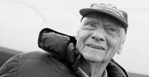 Formule 1-Légende - Niki Lauda (70) est mort