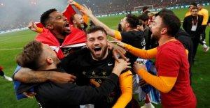 Galatasaray empêche de 1. Titre de champion de Erdogan Club de Basaksehir