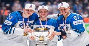 Hockey sur glace: Pour la fête de la Finlande le Titre de champion du - Regard