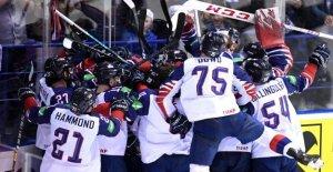 Hockey sur glace-championnats du monde: anglais restent de premier ordre, la France augmente à partir de