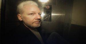 Justice AMÉRICAINE avancé acte d'Accusation contre Assange - Vue