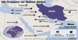 Le conflit avec l'Iran: les etats-UNIS de frapper soudainement plus doux Sons de Vue