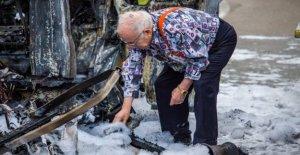 Les campeurs de la chaîne ZDF, Brocanteurs Lucki brûlé: Feuerdrama sur l'A 8
