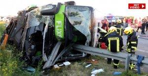 Mortel Accident Dramatique sur l'A9: Le besoin de Flixbus Conducteur de permettre tout
