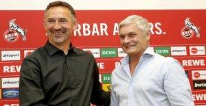 Turbo de Football et de Défense Étiquette: Beierlorzers Plans avec le 1. FC Cologne