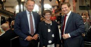 AKK et Merz à Düsseldorf: Merz gagne CDU-Stimmungstest