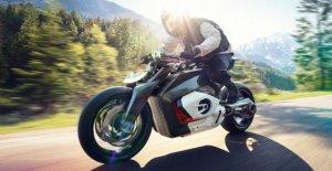BMW construit Moto Électrique: la Vision DC Roadster avec plus flagrante de l'Optique
