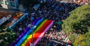 Brésil: Trois Millions de Personnes à célébrer les 23. Sao Paulo Pride