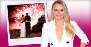 Caroline Wozniacki: Tennis de l'As dit Oui à l'Ex-NBA-Star David Lee