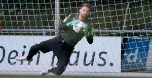 Hanovre 96: Rapatriés Ron-Robert Zieler, se réjouit de la 2. Ligue