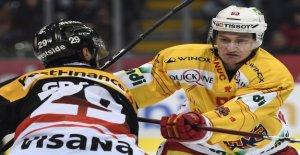 Hockey sur glace: Bienne-Défenseur de Janis Moser avant la NHL Draft - Vue