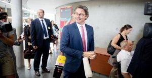 Le ministre des transports Scheuer est grillé: tel est le Péage-Interrogatoire au Bundestag