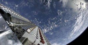 Les satellites de polluer notre beau...