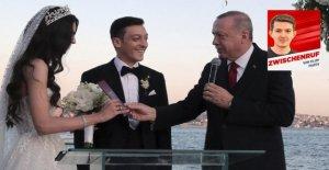 Mesut Özil: Il lutte contre tout ce pour quoi son meilleur homme Erdogan est!