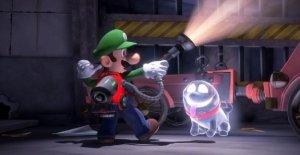 Ninteno Nouveauté de l'IMAGE de l'Enregistrement: Luigis Mansion 3 est drôle comme Mario!