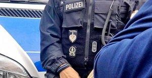 Ostritz: Insigne Polizeiuniform à Néonazis Réunions sont interdites