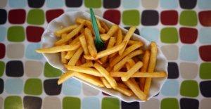 Phénomène: Pourquoi nous mangeons dans la Piscine préfère les Frites?