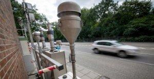 Pollution en dioxyde d'azote 2018: 57 Villes de dépasser la Limite