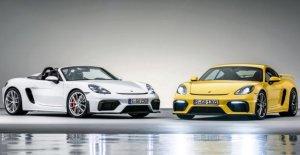 Porsche 718 Boxster et Cayman GT4: Deux assez rapide Amis!