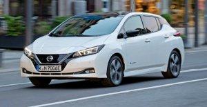 Voiture électrique Nissan Leaf e+ maintenant avec plus de Portée