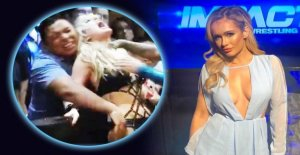Wrestling: Fan, en tâtonnant cette belle Combattante