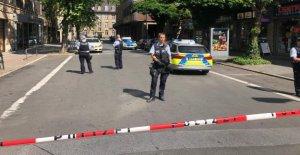 À Dortmund, un salon de Coiffure: Bandido blessé, Coupable de la Fuite