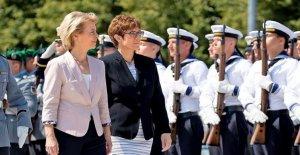 AKK et ursula von der Leyen: Ce qui se passe dans la Vie de la CDU-Femmes change maintenant