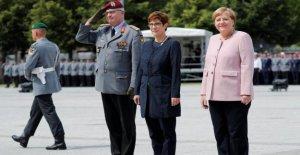 Annegret Kramp-Karrenbauers premier Discours en tant que ministre de la Défense