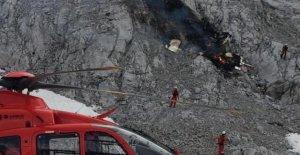 Avion léger dans les Alpes en panne: 3 Morts!
