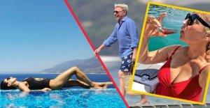 Boris Becker, Nazan Eckes et cie: c'Est vous!, ce sont les Vacances!