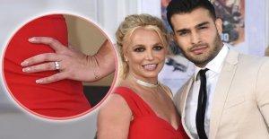 Britney Spears et son petit Ami Sam: Premier public, l'Amour se Produit