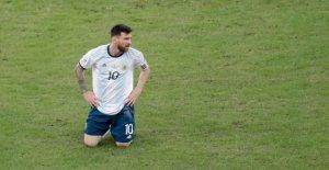 Copa America: Lionel Messi étouffants...