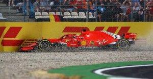 Formule 1: Sebastian Vettel a été chaud sur une première Victoire à Hockenheim