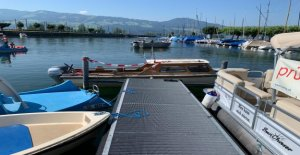 Homme (42) vole Bateau à moteur sur le Lac de zurich et construit des Accidents de Vue