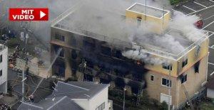 Japon: au Moins 24 Morts dans le Incendie criminel, d'Animation!