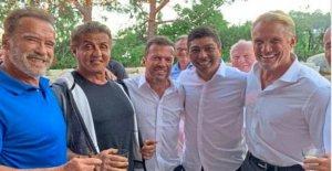 La bavière aux états-UNIS: Crêpes pour Schwarzenegger et Stallone