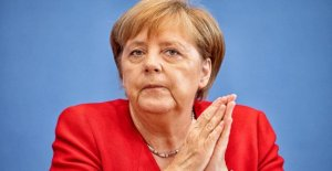 Le chancelier Angela Merkel: Elle se donne à lui-même et le beau Temps-la Folie