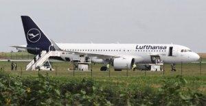 Lufthansa Avion d'alerte à la Bombe à Belgrade évacués