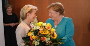 Merkel Climat-Plan: von der Leyen, la Verte rétrécir